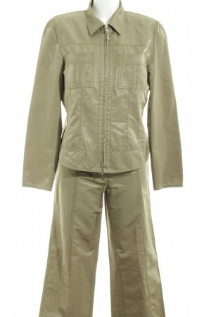 Taifun Web Twin Set khaki-goldfarben Casual-Look