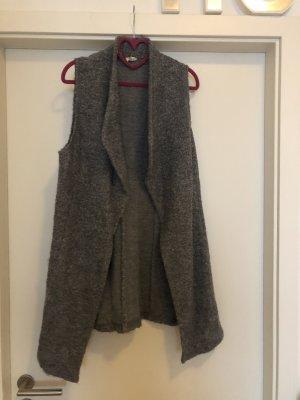 Taifun Knitted Vest grey