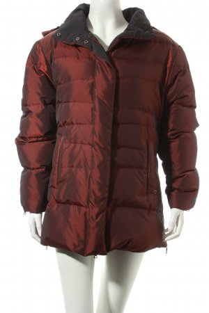 Taifun Winterjacke bordeauxrot Steppmuster Casual-Look