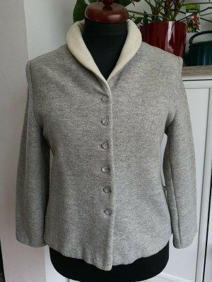 Taifun Wool Blazer grey-cream mixture fibre