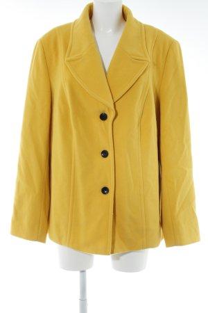 Taifun Chaqueta de lana amarillo oscuro look casual