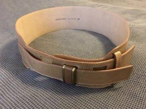 Claudia Sträter Belt cognac-coloured leather