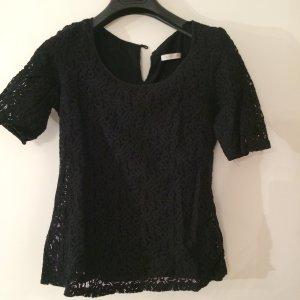 Tailiertes Häkel Shirt