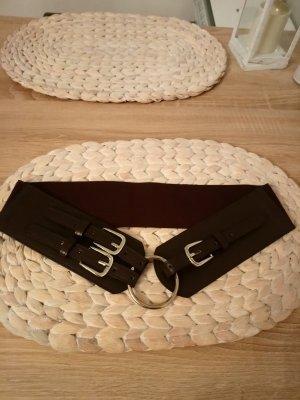 Cintura vita marrone scuro