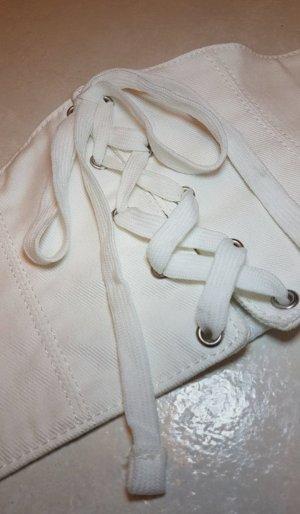 Bershka Cintura vita bianco