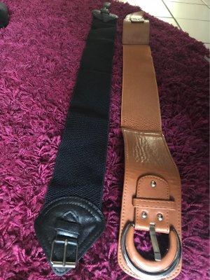 Cinturón pélvico negro-marrón