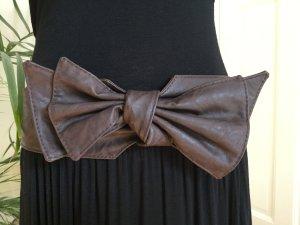 Ichi Waist Belt dark brown imitation leather