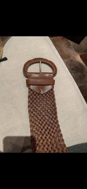 Cinturón pélvico color bronce-marrón claro