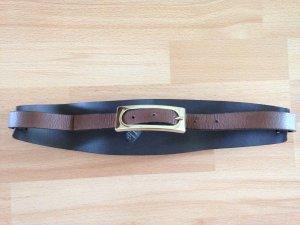 Taillengürtel aus echtem Leder von Massimo Dutti // NEU