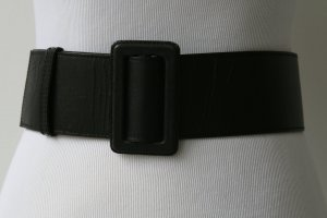 Taillengürtel breit aus Leder von Mexx schwarz