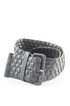 Cintura vita grigio modello web stile casual