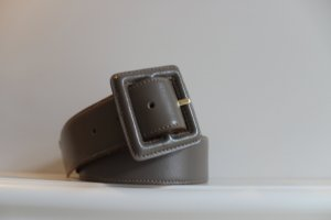 Waist Belt taupe leather