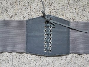 Tailleriem grijs-zilver