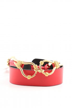 Waist Belt red-gold-colored casual look