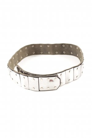 Waist Belt silver-colored '80s style