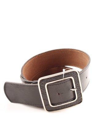 Waist Belt silver-colored-black animal pattern extravagant style