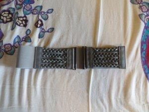 Bijou Brigitte Ceinture de taille gris polyester