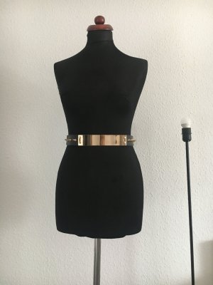 Zara Waist Belt black-gold-colored