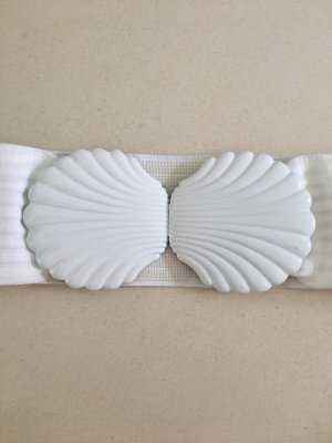 H&M Waist Belt white