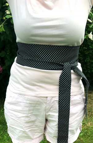 Double Belt white-black mixture fibre