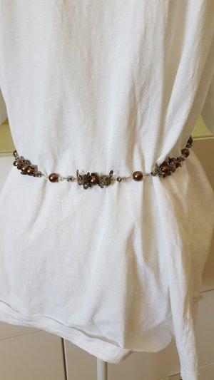 Cinturón pélvico marrón claro-verde oliva