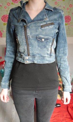 Taillenlange Jeansjacke von H&M