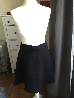 Reserved High Waist Skirt black-magenta