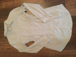 Taillierte Bluse gestreift