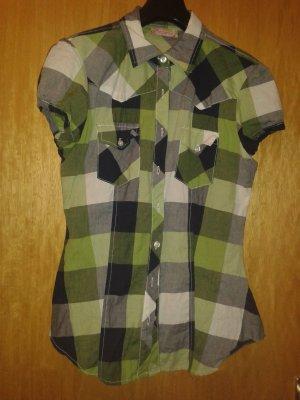 taillierte Bluse/Hemd