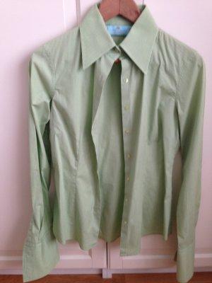 Taillierte Bluse mit Stretch und Manschetten, Gr. 36
