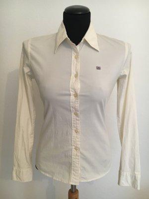 Taillierte Bluse, Ralph Lauren, cremeweiß