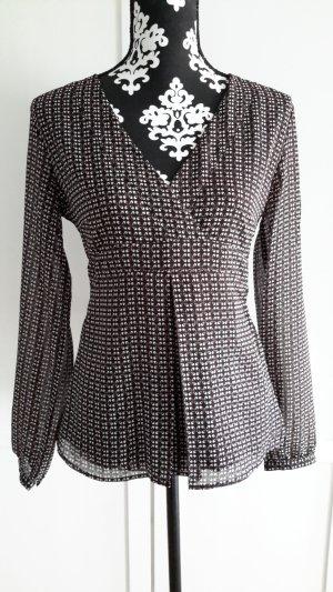 Taillierte Bluse / Tunika von s.Oliver mit größerem V-Ausschnitt