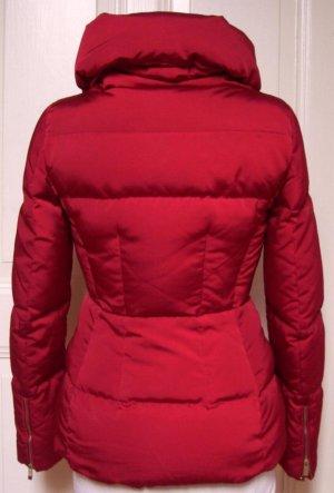 Zara Woman Piumino bordeaux-rosso