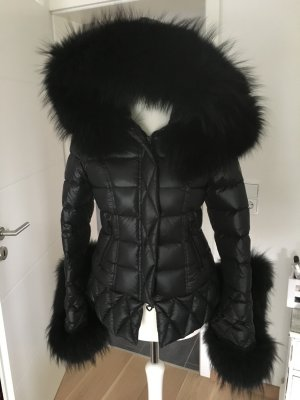 Down Coat black