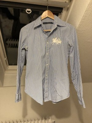 Ralph Lauren Shirt Blouse white-blue