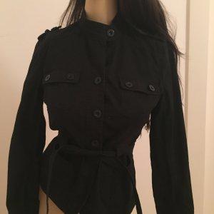 Taillierte Jacke / Jacket schwarz