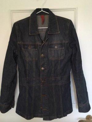 H&M Denim Jacket blue-dark blue cotton