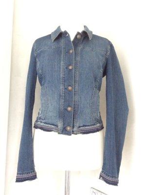 Taillierte Jeansjacke von Esprit