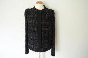 Prada Wool Blazer black-grey wool