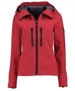 Wellensteyn Veste softshell rouge