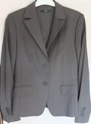 Taillierter Blazer aus elastischer Schurwolle