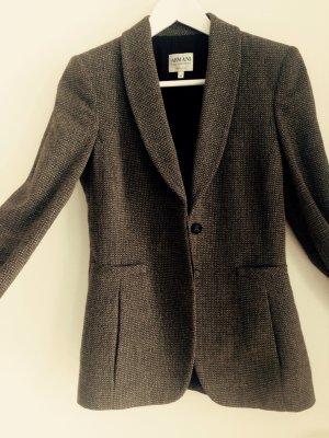Taillierter Blazer aus Schurwolle, Gr. 34