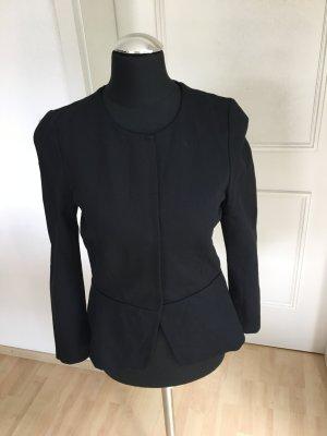 Taillierter Blazer in schwarz von Hallhuber