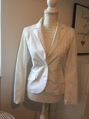 Taillierter Blazer in weiß