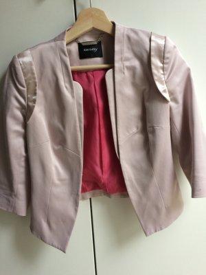 Taillierter Blazer rosa