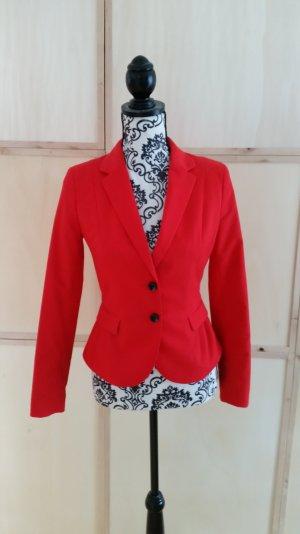 Taillierter Blazer Rot 36 H&M