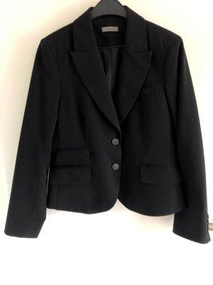 Taillierter Blazer schwarz