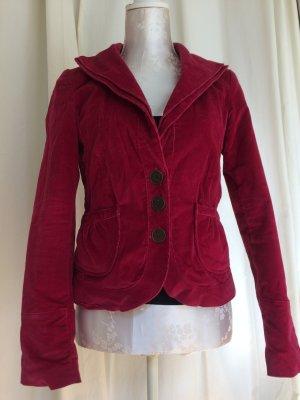 Taillierter Damen Kurzblazer, Vero Moda, Gr.36, pink-rot