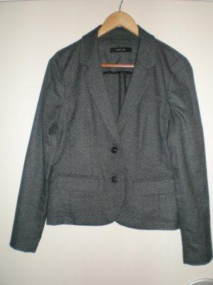 """taillierter Damenblazer von OPUS """"Juris Tweed"""" grau meliert Gr. 40 neuwertig"""