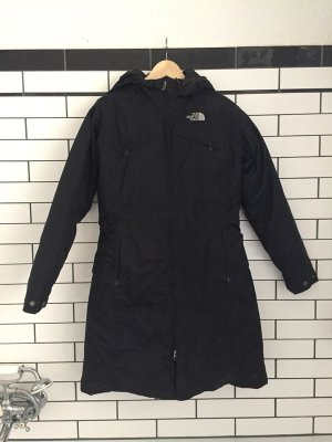 North Face Down Coat black